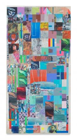 Franklin Evans, softmotherwellandtitian, 2017, Acrylic on canvas