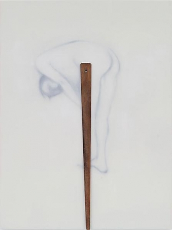 """624 (Youth with a Wooden Leg),"" 2012, Oil on linen, 60 x 45 inches, 152.4 x 114.3 cm, A/Y#20576"
