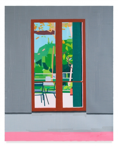 Door In Europe, 2019, Oil on canvas, 59 x 47 1/4 inches, 150 x 120 cm,MMG#31947
