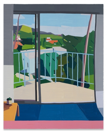 Guy Yanai,The Standard West Hollywood, 2019,Oil on canvas,59 x 47 1/4 inches,150 x 120 cm,MMG#30928