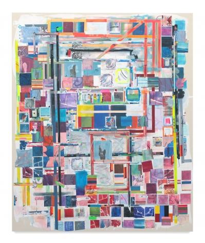 Franklin Evans, matissemodellessyellow, 2014, Acrylic on canvas