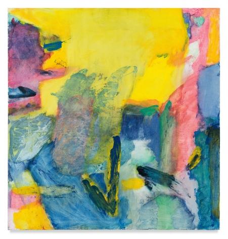 I Heard The Corn, 1979, Oil on canvas, 54 x 52 inches, 137.2 x 132.1 cm, MMG#30455