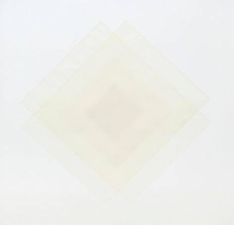 Untitled, 2013, Paper on paper, 17 x 17 inters, 43.2 x 43.2 cm, A/Y#22059