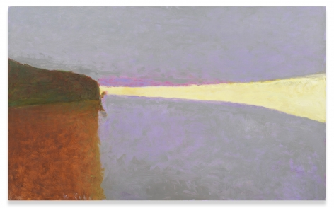 The Sea on a Gray Day II, 2006, Oil on canvas, 32 x 52 inches, 81.3 x 132.1 cm,MMG#31024