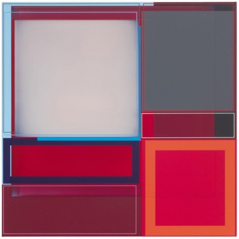 Patrick Wilson, Together, 2014, Acrylic on canvas, 22 x 22 inches, 55.9 x 55.9 cm, A/Y#22149
