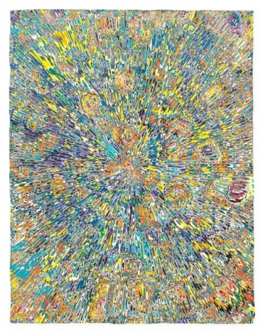 Untitled #1, 2015, Acrylic on wood panel, 18 x 14 inches, 45.7 x 35.6 cm, A/Y#22453