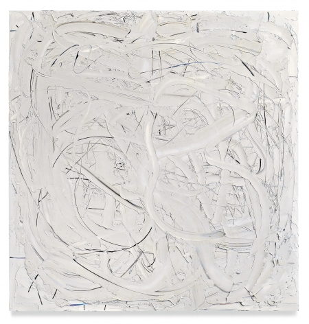 Liat Yossifor,Wide Grey, 2020, Oil on linen, 81 x 78 inches, 205.7 x 198.1 cm,MMG#32991