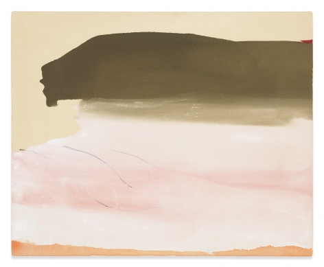 Helen Frankenthaler,  Second Wish, 1974 Acrylic on canvas, 21 x 25 3/4 inches, 53.3 x 65.4 cm, (MMG#31384),