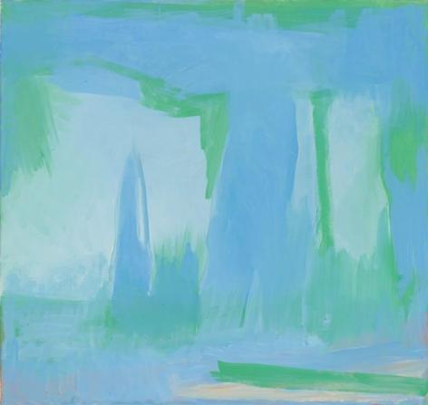 Esteban Vicente, Silence, 1996, Oil on canvas, 36 x 38 inches, 91.4 x 96.5 cm, A/Y#6569