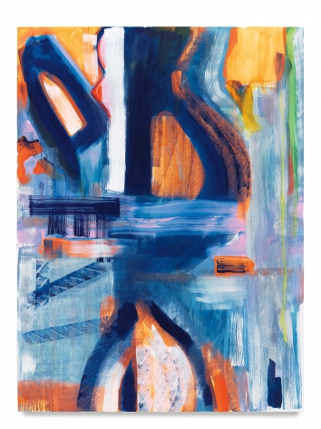 Monique van Genderen, Untitled, 2018, Oil on linen, 78 by 58 inches, 198.1 by 147.3 centimeters