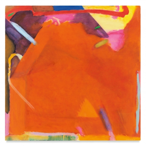 It's Cornice, 1982, Oil on canvas, 52 x 52 inches, 132.1 x 132.1 cm, MMG#32733