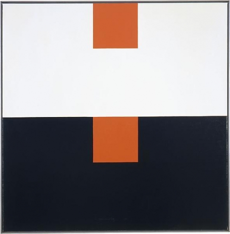 """""""Costume change,"""" 1981, Oil on linen, 40 x 40 inches, 101.6 x 101.6 cm, A/Y#12709"""