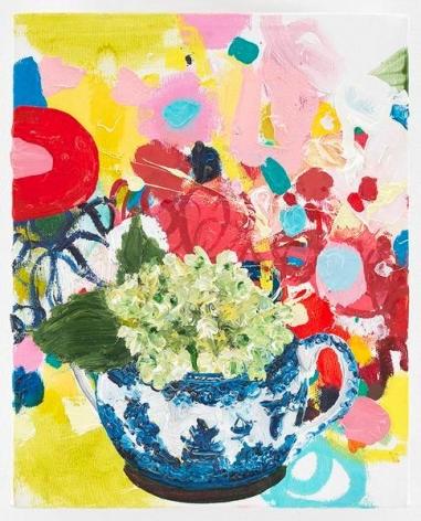 Hydrangea, 2009, Oil on canvas, 10 x 8 inches, 25.4 x 20.3 cm