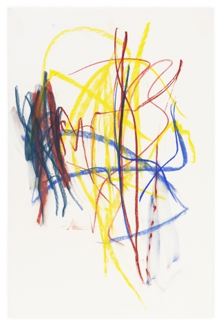 , Pastel, 1991, Pastel on paper, 48 x 31 1/2 inches, 121.9 x 80 cm, MMG#32089