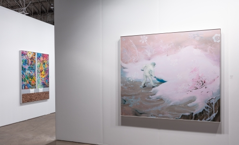 Installation view, Booth #267, Miles McEnery Gallery, Expo Chicago 2019