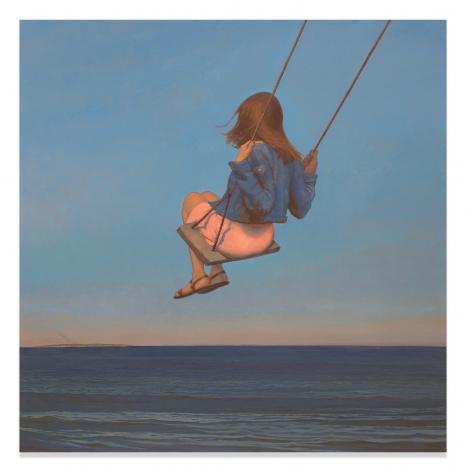 Bo Bartlett, The Swing, 2017, Oil on linen