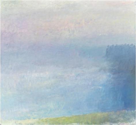 Deer Isle - Fog Closing In, 1968, Oil on canvas, 66 x 72 inches, 167.6 x 182.9 cm, A/Y#21148