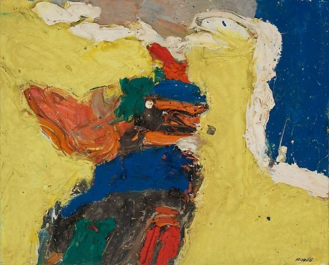 "George McNeil, ""Montparnasse View,"" 1965, Oil on panel, 13 x 16 1/8 inches, 33 x 41 cm, A/Y#19676"