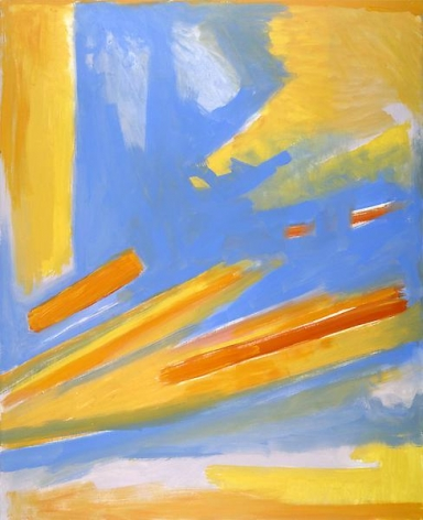Composition, 1998, oil on canvas, 52 x 42 inches, 132.1 x 106.7 cm, A/Y#6672