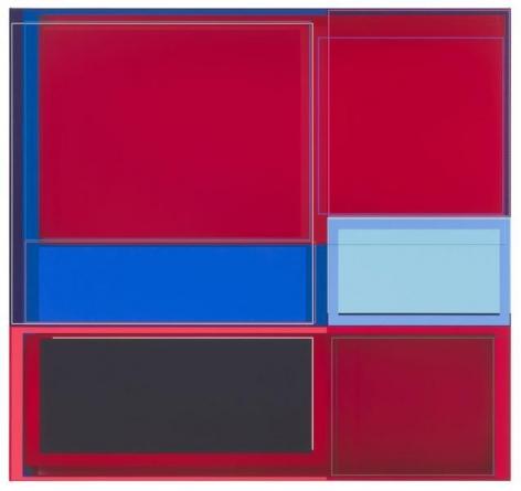 Patrick Wilson, Pitchman, 2014, Acrylic on canvas, 33 x 35 inches, 83.8 x 88.9 cm, A/Y#22151