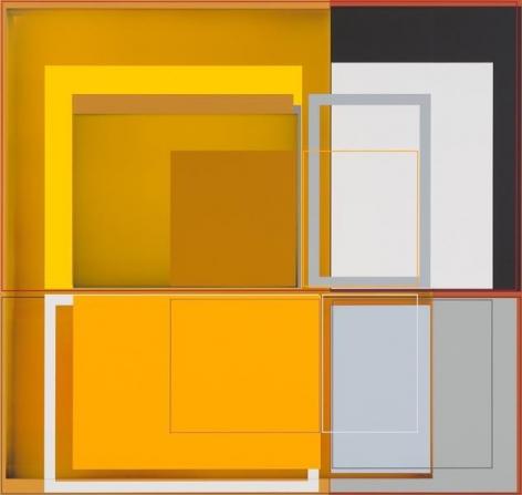 Patrick Wilson, Oriole, 2014, Acrylic on canvas, 33 x 35 inches, 83.8 x 88.9 cm, A/Y#21489