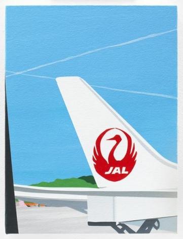 JAL, 2016, Acrylic on canvas, 12 x 9 inches, 30.5 x 22.9 cm, AMY#28130