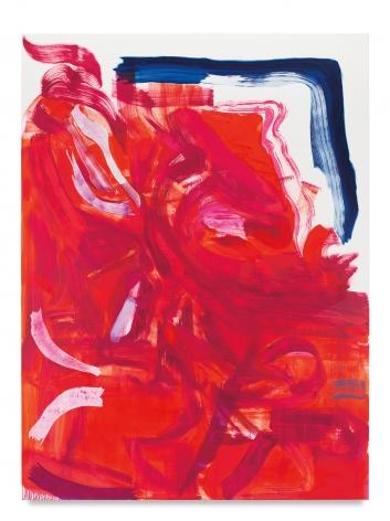 Monique Van Genderen, Untitled, 2018, Oil on linen, 78 x 58 inches