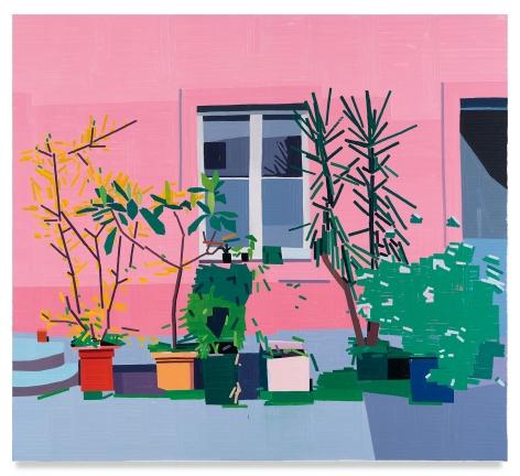 Guy Yanai, Almine Rech Courtyard, 2019
