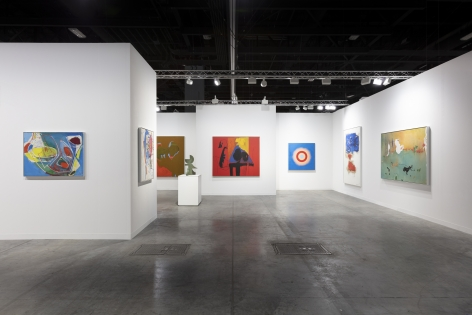 Installation view, Booth G8, Miles McEnery Gallery, Art Basel Miami Beach 2018