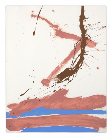 Robert Motherwell, Beside the Sea No. 41, 1966, Oil and acrylic on paper, 29 x 22 7/8 inches, 73.7 x 58.1 cm, MMG#11512,