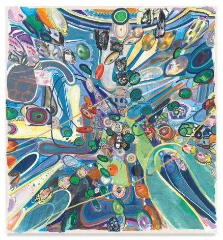 sorrynotsorryrecursion, 2021, Acrylic on canvas, 74 x 68 7/8 inches, 188 x 174.9 cm,MMG#33053