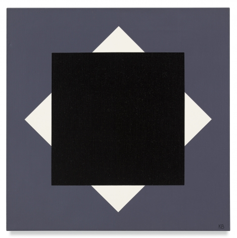 Karl Benjamin, #46, 1965,Oil on canvas,25 x 25 inches,63.5 x 63.5 cm,MMG#31491