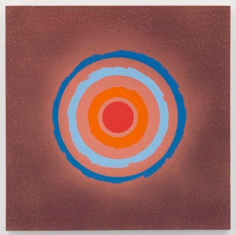 Kenneth Noland, Mysteries: Chime, 1999, Acrylic on canvas, 25 1/4 by 25 1/4 inches, 64.1 by 64.1 cm