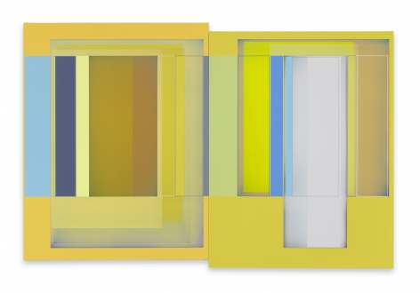Patrick Wilson,Pacific Gold, 2021, Acrylic on canvas, 28 x 42 inches, 71.1 x 106.7 cm,MMG#33092