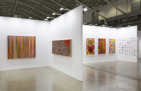 Installation view, Booth #C03, Miles McEnery Gallery, Taipei Dangdai 2020