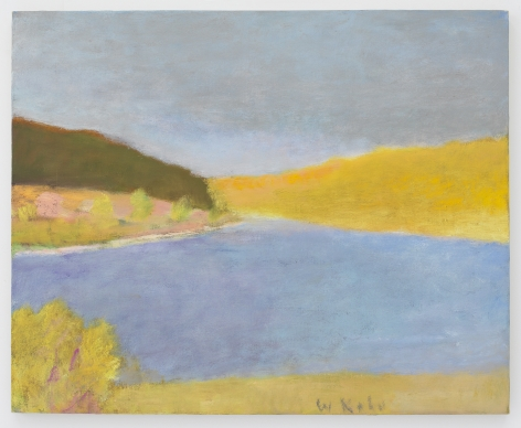 Across Weatherhead Hollow, 1994, Oil on canvas, 18 x 22 inches, 45.7 x 55.9 cm,MMG#29896