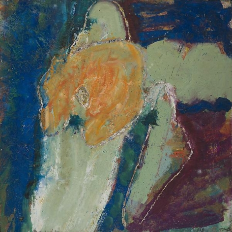 "George McNeil, ""Nassau,"" 1961, Oil on panel, 48 x 48 inches, 121.9 x 121.9 cm, A/Y#16037"