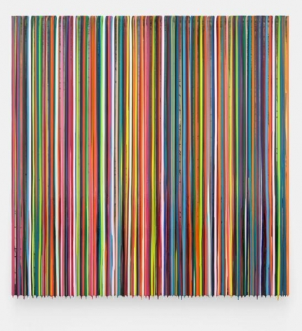 Markus Linnenbrink, INONEEARANDOUTTHEOTHER, 2014, Epoxy resin and pigments on wood, 60 x 60 inches, 152.4 x 152.4 cm, A/Y#22166