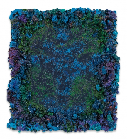 DeepDrippings (HissOvian Version), 2020, Oil on board, 12 1/4 x 10 1/2 inches, 31.1 x 26.7 cm,MMG#31972