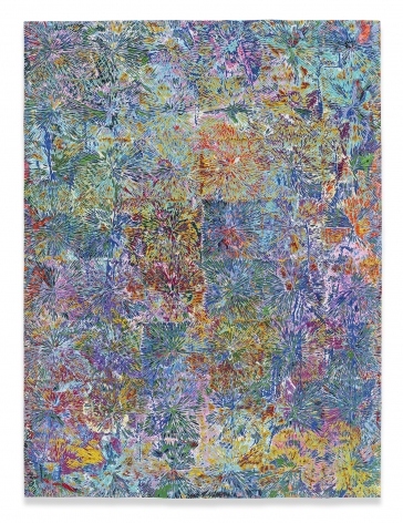 Untitled #9, 2020,Acrylic on panel,48 x 36 inches,101.6 x 76.2 cm,MMG#32165