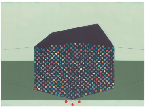 700 (The pastoral exultation of Richard Prince), 2014, Oil on linen, 48 x 66 inches, 121.9 x 167.6 cm, MMG#22294