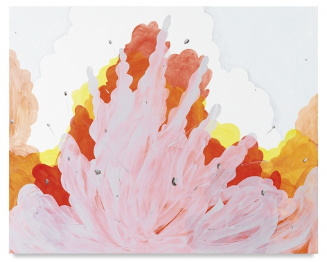 Bombardment of the Senses, 2017,Acrylic on canvas,48 x 60 inches,121.9 x 152.4 cm,MMG#29533