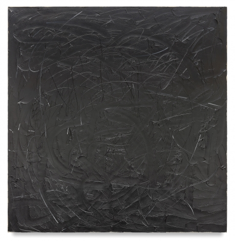 Wall IV, 2017, Oil on linen, 80 x 78 inches, 203.2 x 198.1 cm, MMG#29660
