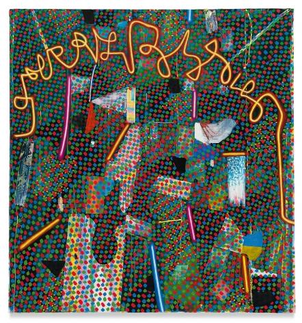 Tomory Dodge, Secret Message, 2017, Oil on canvas