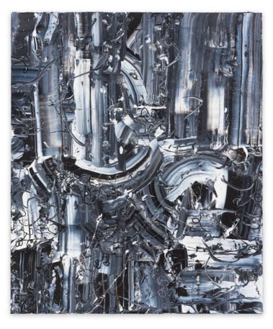 Michael Reafsnyder, Miracle Mud, 2014, Acrylic on linen, 72 x 60 inches, 182.9 x 152.4 cm, A/Y#22180