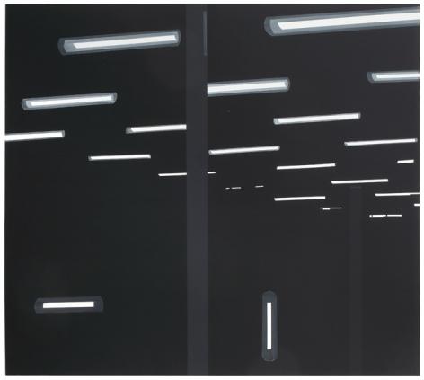 Under Thunder, 2015, Acrylic on canvas, 70 1/2 x 78 1/4 inches, 179.1 x 198.8 cm, A/Y#22264