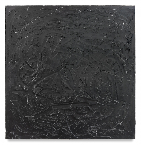 Wall II, 2017, Oil on linen, 80 x 78 inches, 203.2 x 198.1 cm, MMG#29658