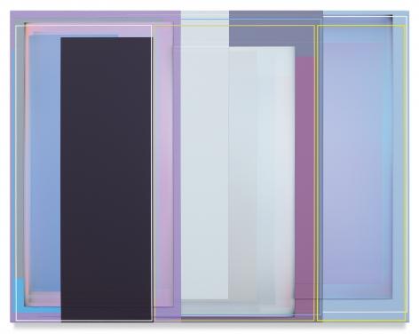 PATRICK WILSON, Caravan, 2019, Acrylic on canvas, 21 x 27 inches, 53.3 x 68.6 cm,(MMG#31035)