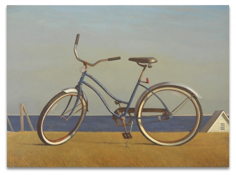The Messenger (Bike), 2018,Oil on canvas,48 1/4 x 66 1/8 inches,122.6 x 168 cm,MMG#30463
