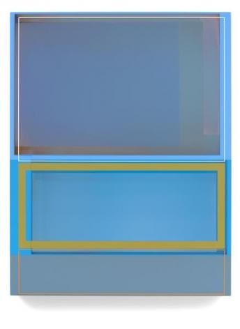 Puente Hills, 2015, Acrylic on canvas, 27 x 21 inches, 68.6 x 53.3 cm, A/Y#22476